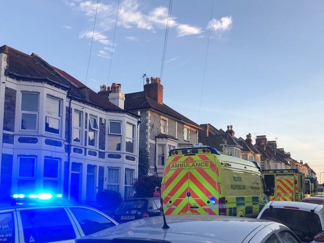 Large emergency response as woman dies at house in Bishopston