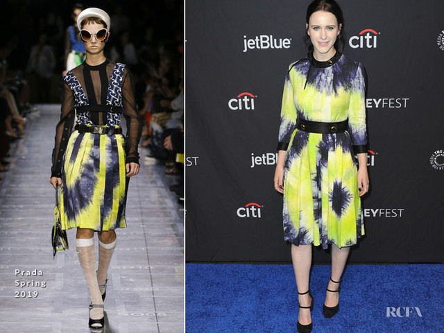 Rachel Brosnahan In Prada – 2019 PaleyFest LA: 'The Marvelous Mrs. Maisel' Presentation