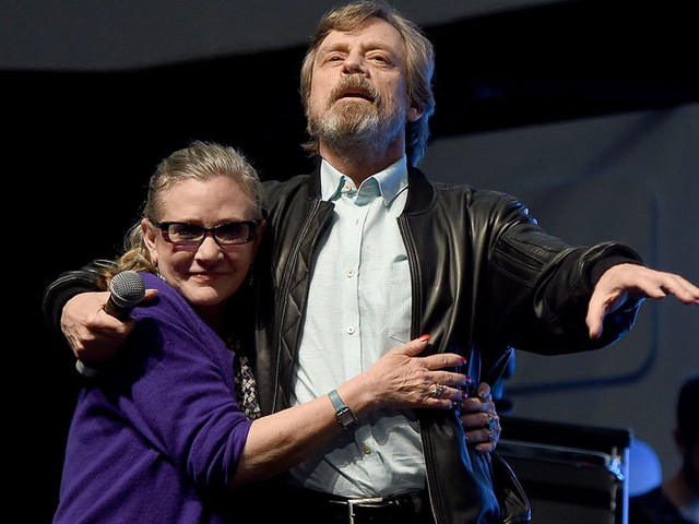 Carrie Fisher's Family Found a 'Star Wars: The Last Jedi' Scene Hard to Watch