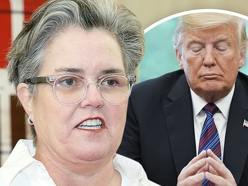 Rosie O'Donnell on President Donald Trump: 'I pray to God he does' time in prison