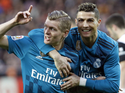 Ronaldo's Real Madrid exit 'made everyone happy', says former team-mate Kroos