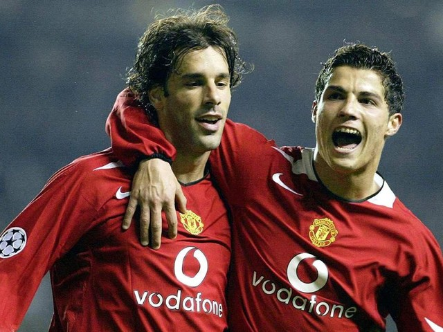 The reason Ruud van Nistelrooy left Manchester United - and it involves Cristiano Ronaldo