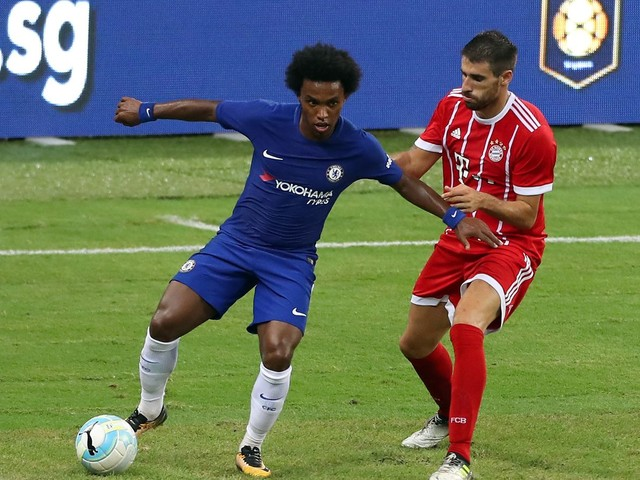 Willian continues to live out Chelsea dream as Mourinho interest rebuffed again