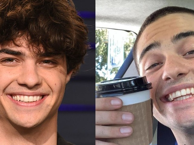 Noah Centineo shaved off his hair, and fans are heartbroken