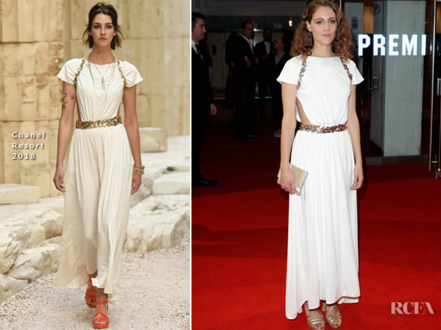 Ariane Labed In Chanel – 'Killing Of A Sacred Deer' London Film Festival Premiere