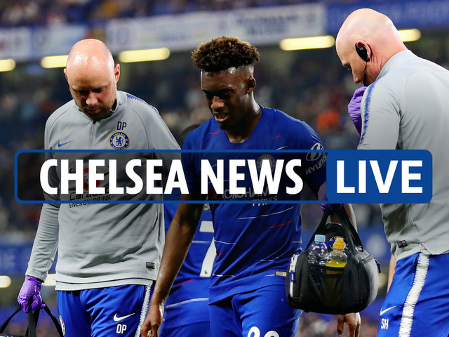 2pm Chelsea transfer news LIVE: Hudson-Odoi out until next season, Cavani could join, Sarri racism row with Burnley