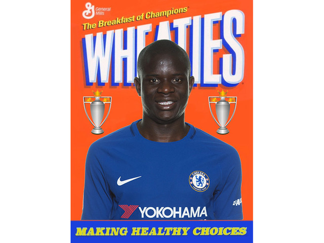 N'Golo Kante is proof that cereal really is the breakfast of champions