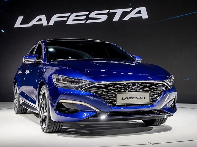 Hyundai Lafesta debuts the brand's new design language