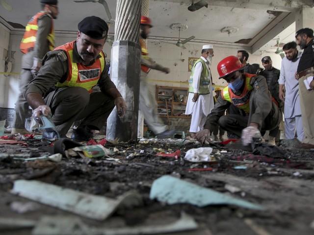 Pakistan explosion: Bomb blast at Islamic seminary in Peshawar kills seven students and injures 70