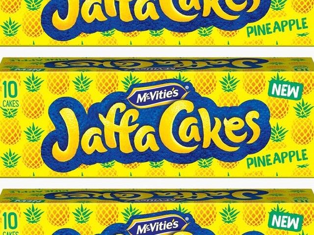 Tropically Flavored Spongecakes - The McVitie's Jaffa Cakes Pineapple Targets Younger Consumers (TrendHunter.com)