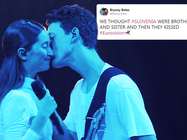 Eurovision viewers convinced 'creepy' Slovenia duo are brother and sister