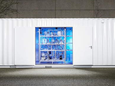 KIT spin-off producing synthetic natural gas from green hydrogen and CO2 from sewage sludge