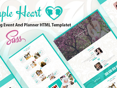 Couple Heart - Wedding Event And Planner HTML Template (Wedding)