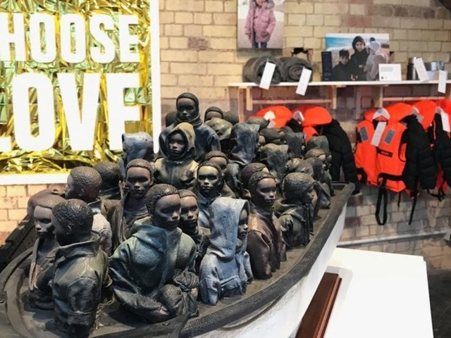 Buy A £2 Raffle Ticket And This Banksy Sculpture Could Be Yours