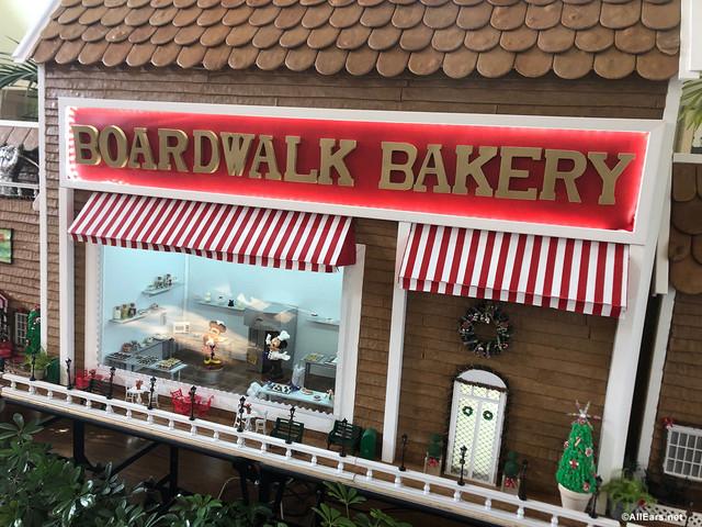 Photos: The Boardwalk's Gingerbread Display is Open in Disney World!