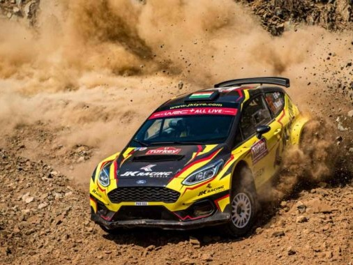 Transmission Failure In The Last Stage Forces Gaurav Gill Out Of The WRC2 Rally Of Turkey