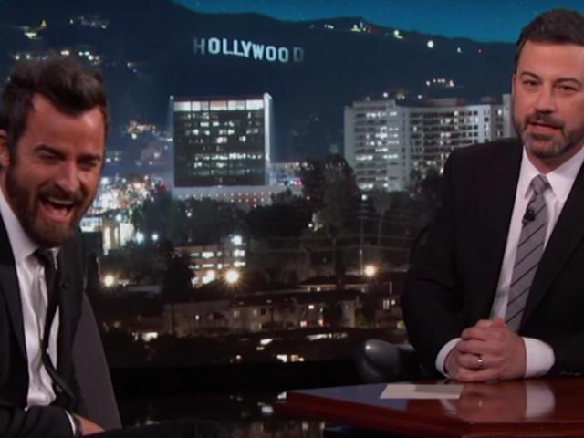 Jimmy Kimmel And Jennifer Aniston Team Up To Prank Justin Theroux
