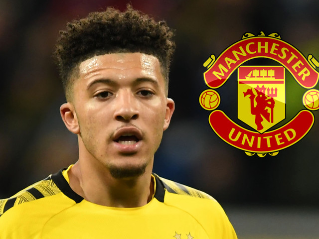 Man Utd step up £100m transfer pursuit for Jadon Sancho after missing out on Erling Haaland to Borussia Dortmund