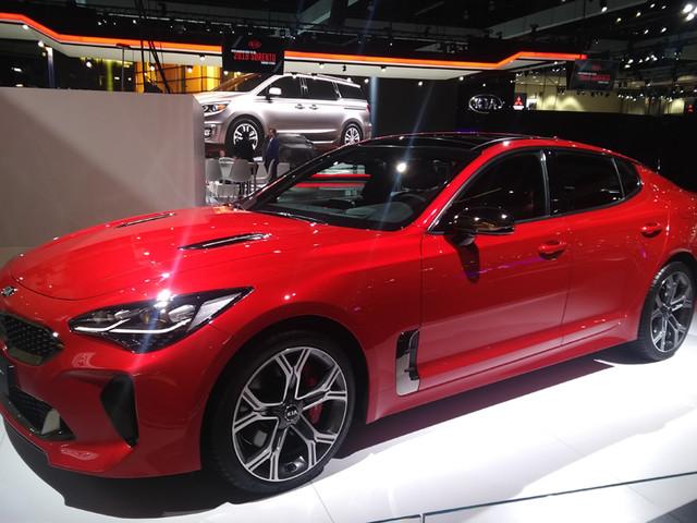 Kia Stinger to be showcased at Auto Expo 2018
