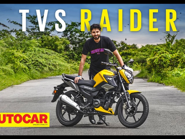 Review: TVS Raider 125 video review