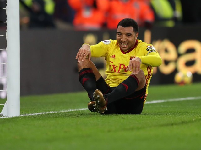 Arsenal fans troll Watford striker Troy Deeney for lacking cajones after horror miss against Crystal Palace