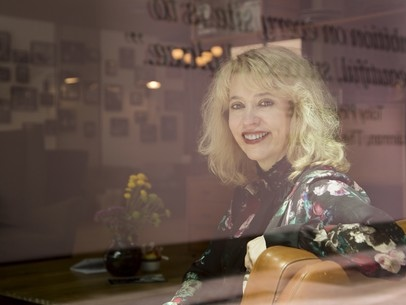 """""""Casting is everything."""" - Meet director Carol Morley of The Alcohol Years and the Patricia Clarkson neo-noir Out of Blue."""