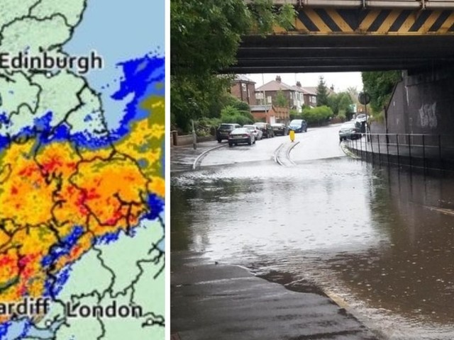 Storm Bronagh LIVE: Heavy rain and winds cause traffic chaos across Greater Manchester and UK