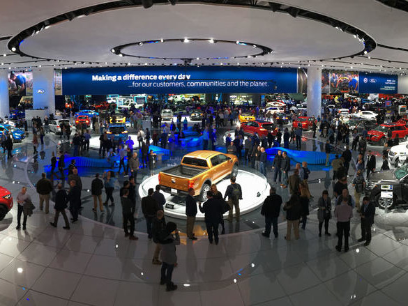 What does the future hold for the Detroit motor show?