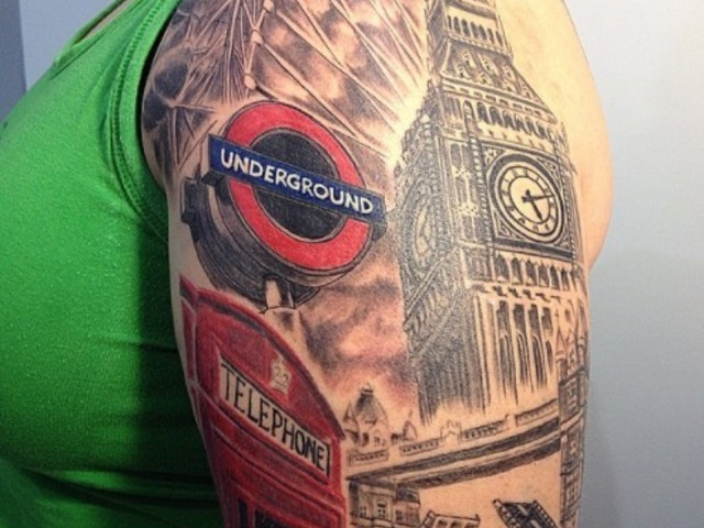You Won't Believe These London Themed Tattoos