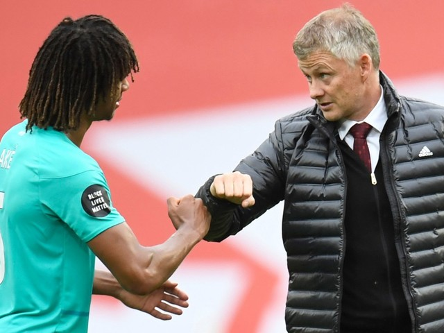 Man Utd boss Solskjaer distances himself from Ake transfer despite his post-game chat with Bournemouth defender