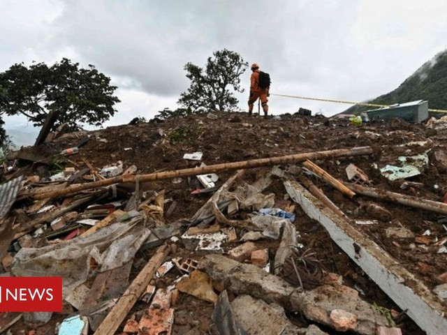 Colombia landslide: At least 14 killed and five injured