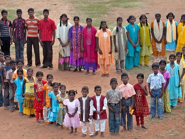 Supporting Heartkids Orphanage in India