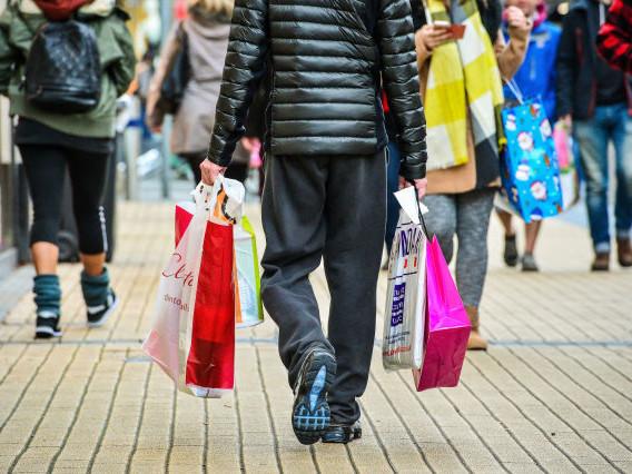 Retail sales rebound after sharp dip