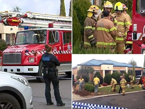 Man, 37, dies in a devastating house fire in Melbourne
