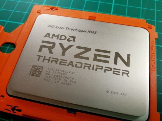 The AMD Ryzen Threadripper 1950X and 1920X Review: CPUs on Steroids
