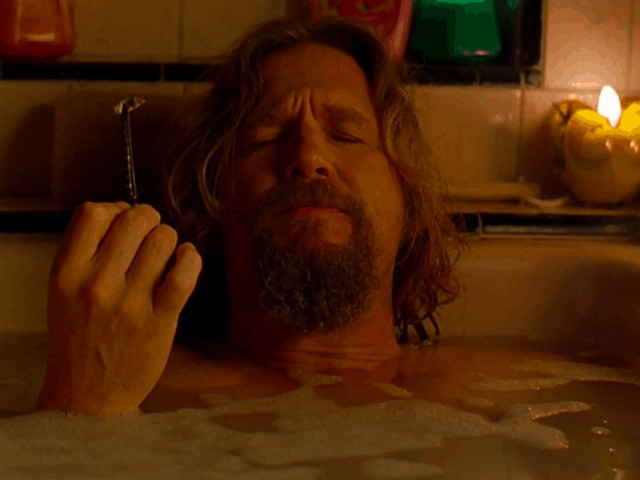 THE BIG LEBOWSKI What does The Dude do for a living?