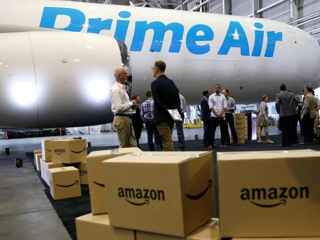 Morgan Stanley is sounding the alarm on Amazon's logistics network for UPS, USPS, and FedEx — with a chilling estimate of up to $100 billion in revenue slashed from the giants