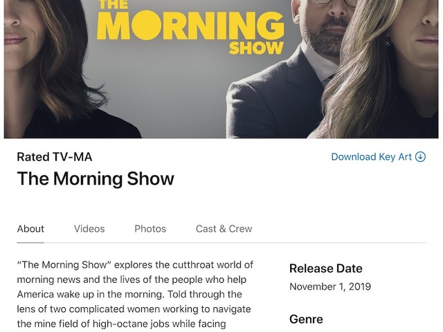 Apple Launches New Press Site With Details on Upcoming Apple TV+ Shows and Movies