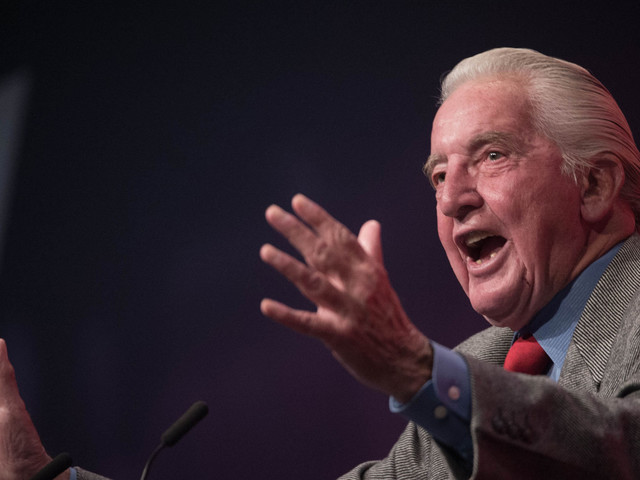 Dennis Skinner's Labour Conference Speech Gets Standing Ovation