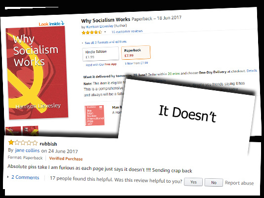 "Lefties Duped By ""Why Socialism Works"" Guide on Amazon"