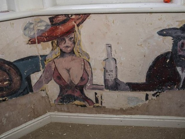 Bristol care home staff stunned after discovering raunchy paintings beneath wallpaper