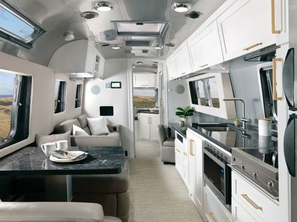 Modern Amenity Travel Trailers - The 2020 Airstream Classic Travel Trailer Has a Spacious Feel (TrendHunter.com)
