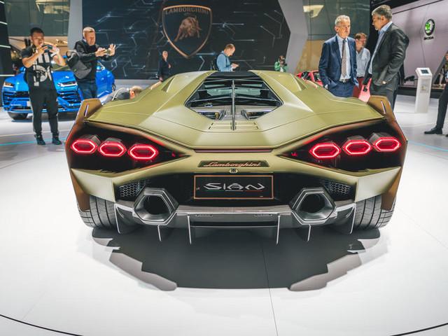 Lamborghini Sian doesn't preview Aventador, says design boss