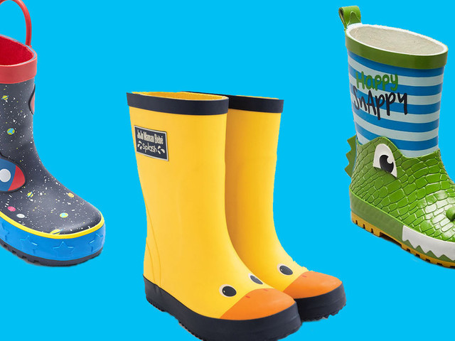 Window Shopping: 5 Puddle-Proof Kids' Wellies We Love