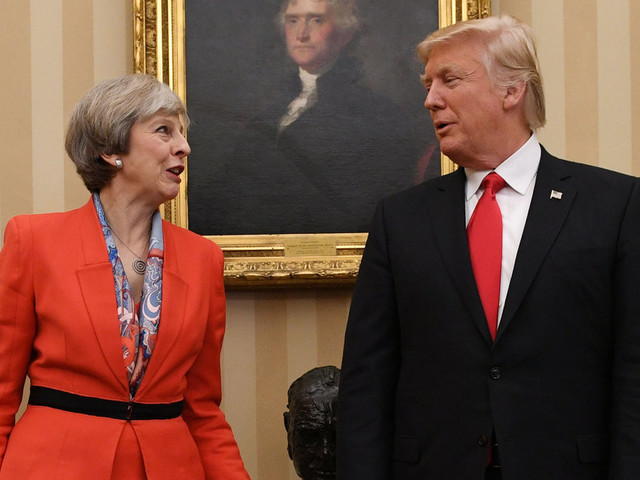 May Must Make Clear To Trump The Urgent Need To Tackle Climate Change