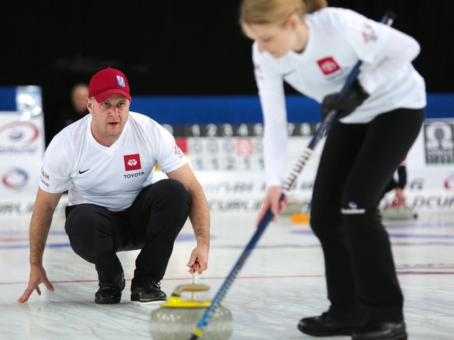 Switzerland record second win at World Mixed Doubles Curling Championship
