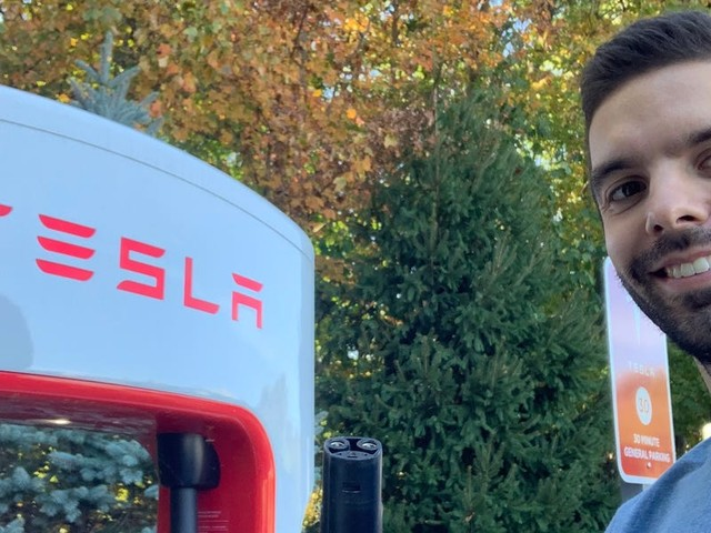 I used one of Tesla's Supercharger stations for the first time, and it solved the biggest problem I had when driving the Chevy Bolt and Nissan Leaf (TSLA)