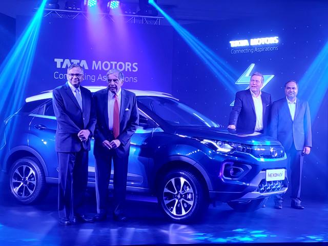 Tata Nexon EV launched at Rs 13.99 lakh