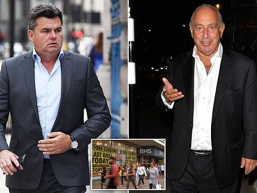 Dominic Chappell ordered to pay £9.5million into BHS pension fund