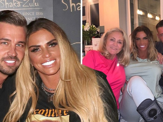 Katie Price 'in a rush to marry Carl Woods so her terminally ill mum can be at the wedding'